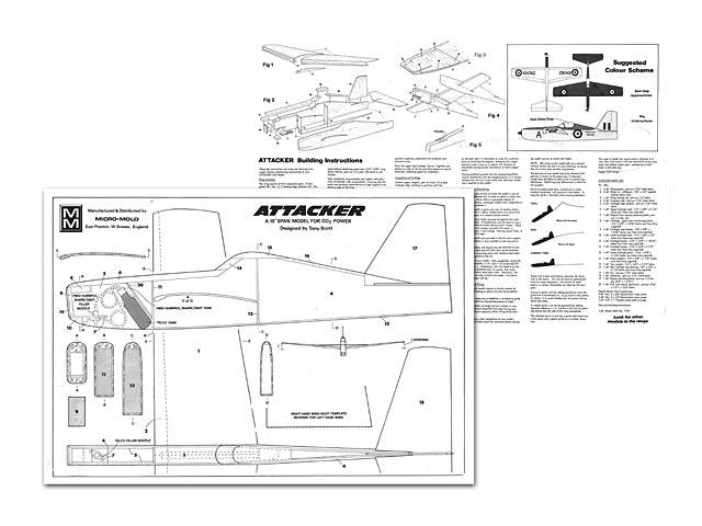 Attacker (oz12089) by Tony Scott from Micro Mold