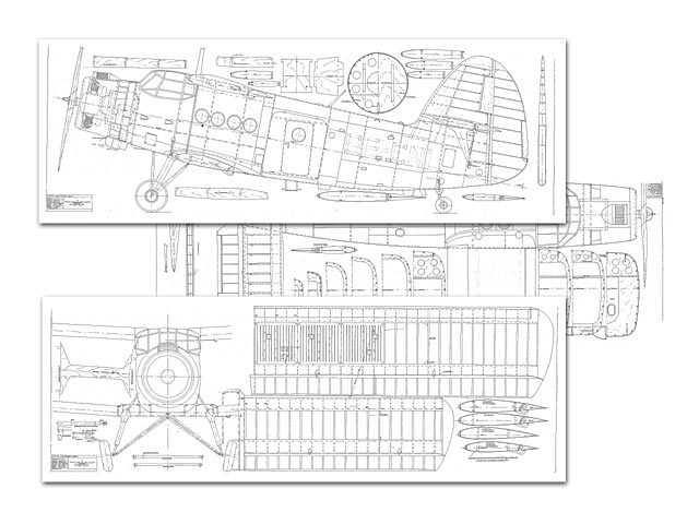 Antonov An-2 (oz12246) by Y Rusticus from Big Scale Plans 1994