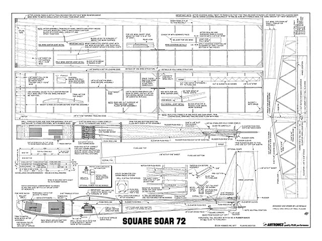 Square Soar 72 plan - Free download - Outerzone