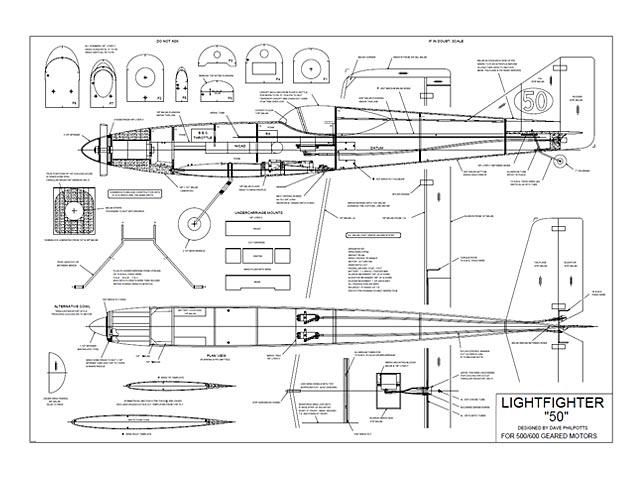 Light Fighter 50 - 12503