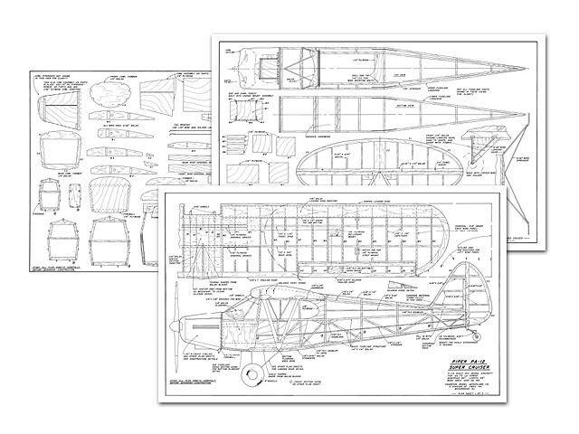 Oz   Piper Pa-12 Super Cruiser Plan