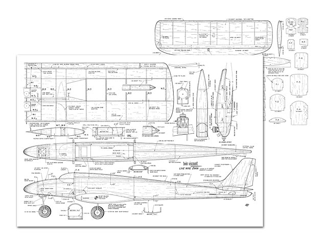 Twin Viscount - plan thumbnail image