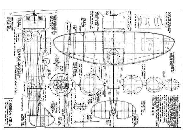 Cessna CR2 - plan thumbnail image