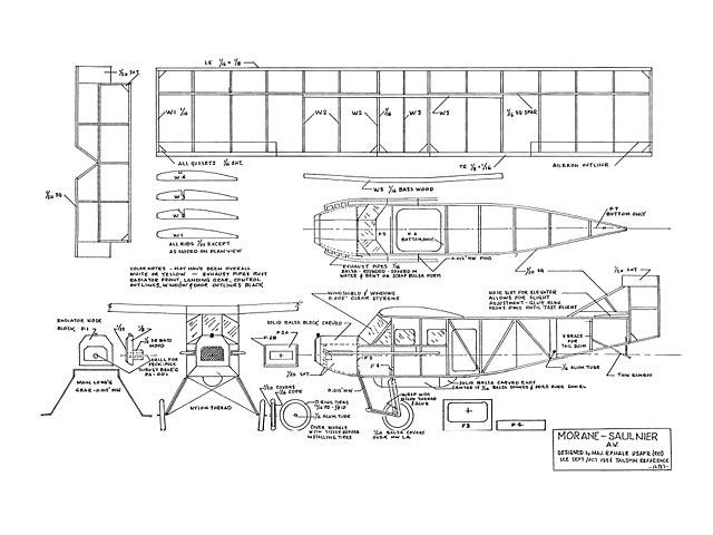 Morane Saulnier AV - 12583