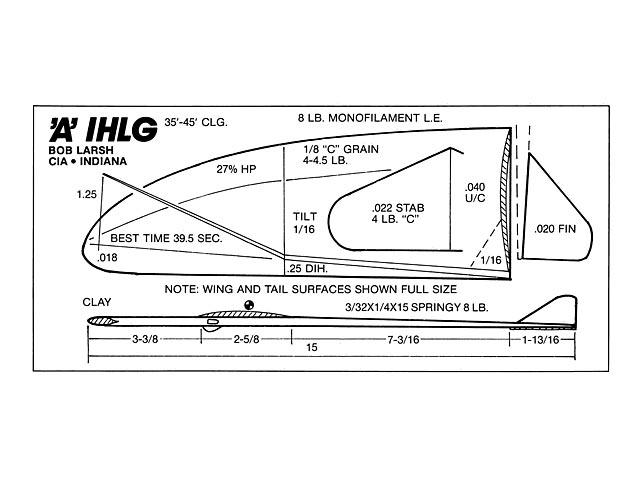 A IHLG (oz12593) by Bob Larsh from Model Builder 1989