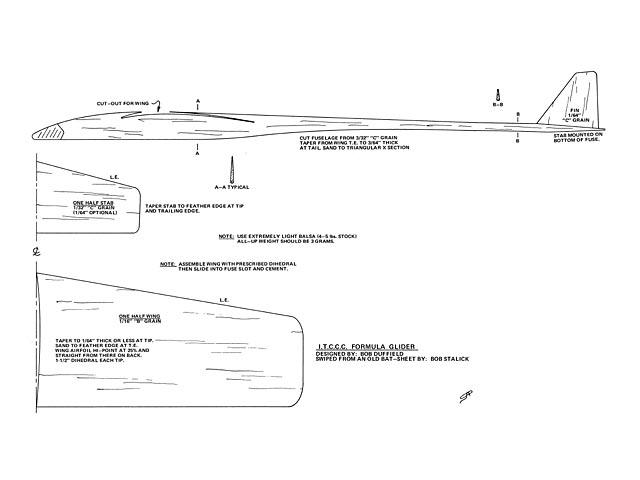 ITCCC Formula Glider  - 12597