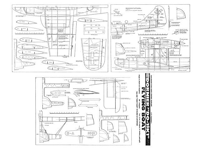 Dornier Do 18K1 Flying Boat plan - Free download - Outerzone