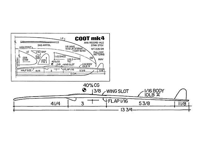 Coot Mk4 (oz12766) by Stan Stoy from Model Builder 1988