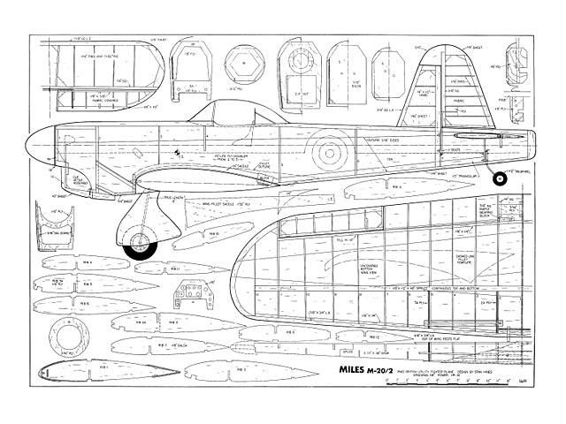 Miles M.20/2 - plan thumbnail image