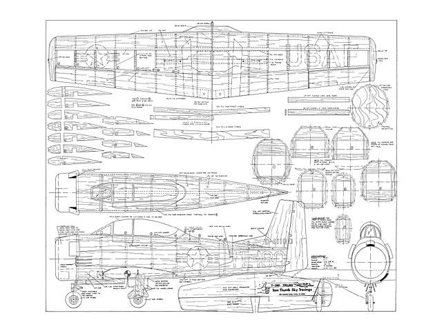 T-28D Trojan - 12818