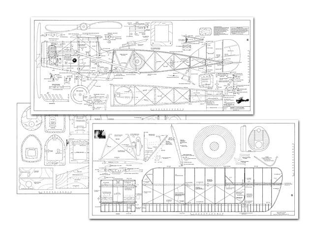Bristol Fighter F2B (oz12872) by Roy Maynard