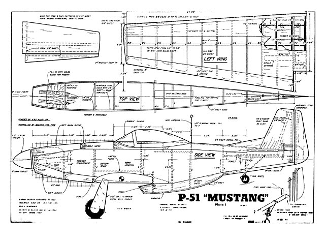 P 51 mustang plan free download outerzone p 51 mustang plan thumbnail image malvernweather Gallery