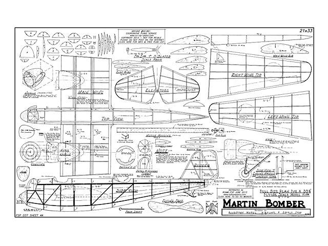 Martin Bomber - 12921