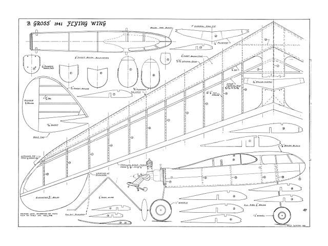 Gross Wing Half A - 12989