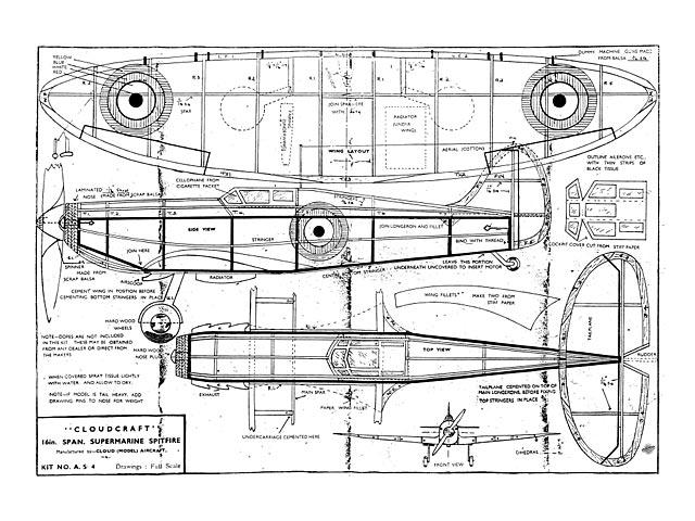 Spitfire (oz13004) by Howard Boys from Cloudcraft