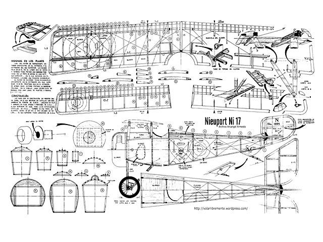 Nieuport 17 - plan thumbnail image