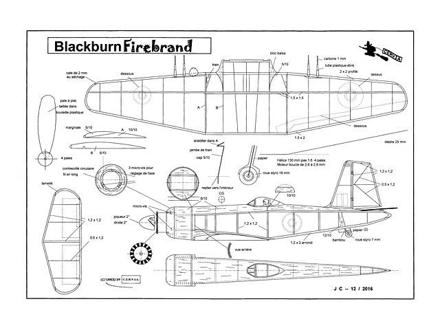 Blackburn Firebrand - 13105