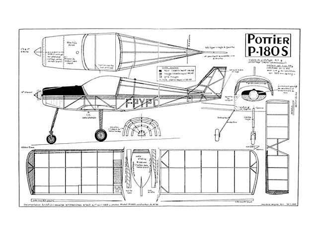 Pottier P-180S - 13106