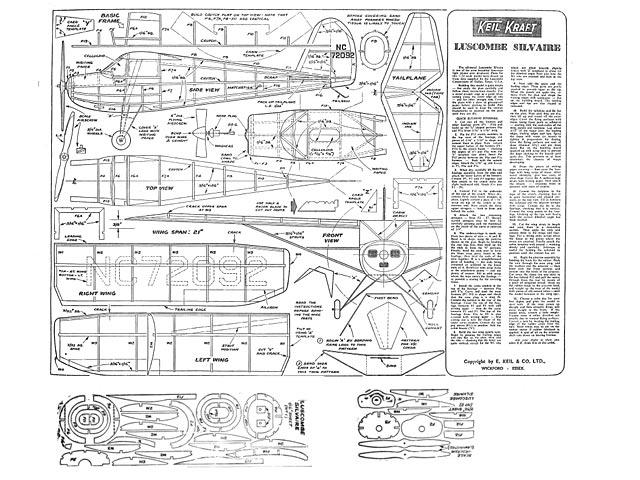 Luscombe Silvaire - plan thumbnail image
