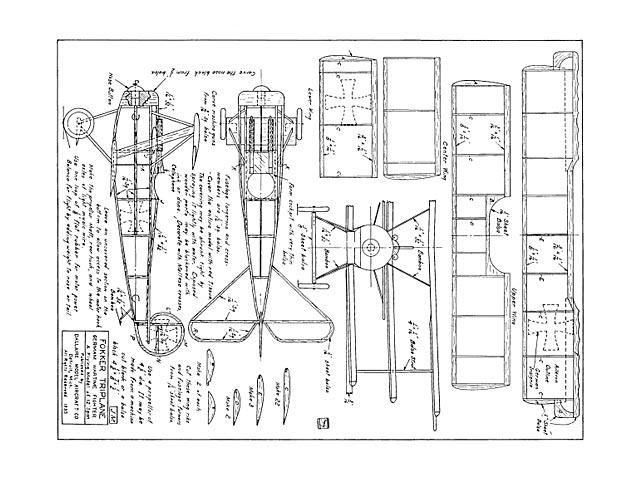 Fokker Triplane - 13275