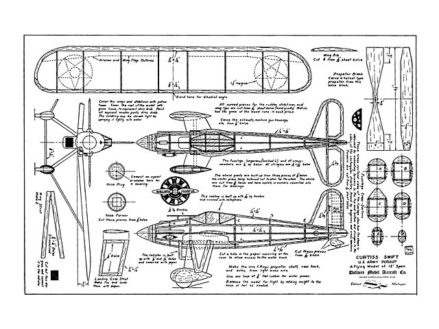 Curtiss Swift (oz13295) from Dallaire Models 1935