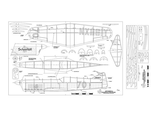 Keith Rider R-4 Racer (oz13321) by David Collins 2000