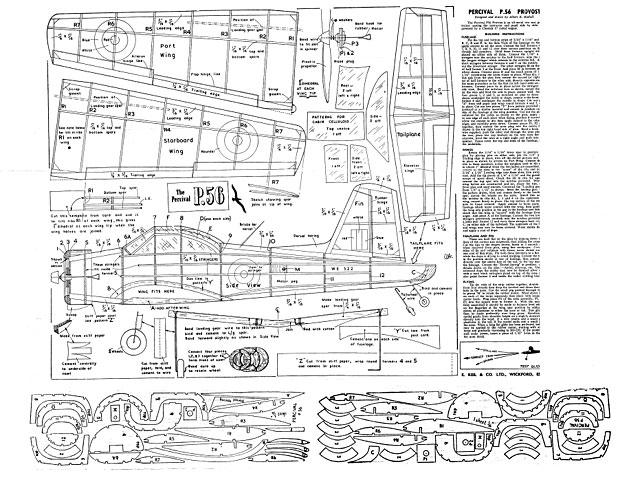 Percival P.56 Provost - plan thumbnail image