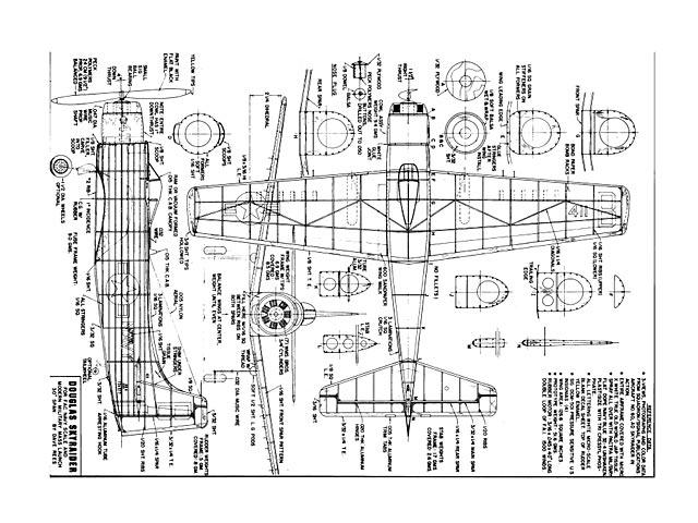 Douglas Skyraider (oz1380) by Dave Rees