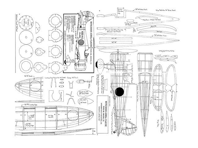 Mitsubishi A5M2a Claude - plan thumbnail image