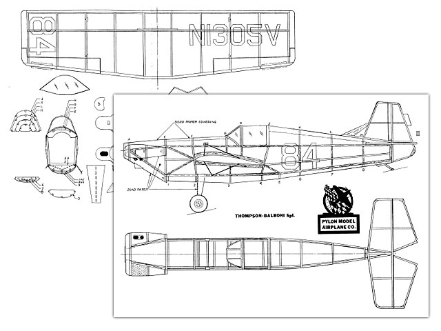 Thompson-Balboni (oz1428) by Dave Stott from Pylon Model Airplane Co
