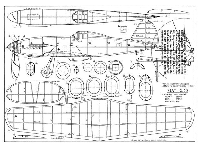 Fiat G.55 - plan thumbnail image