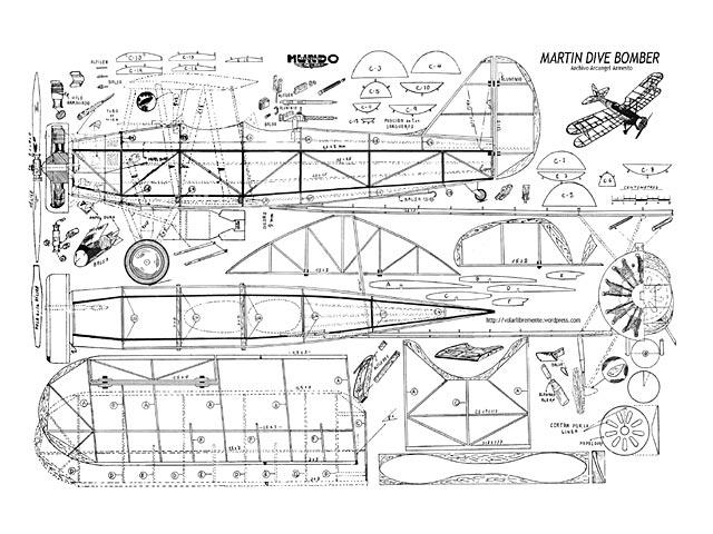 Martin Dive Bomber - plan thumbnail image