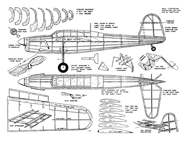 Fairey Barracuda  - plan thumbnail image