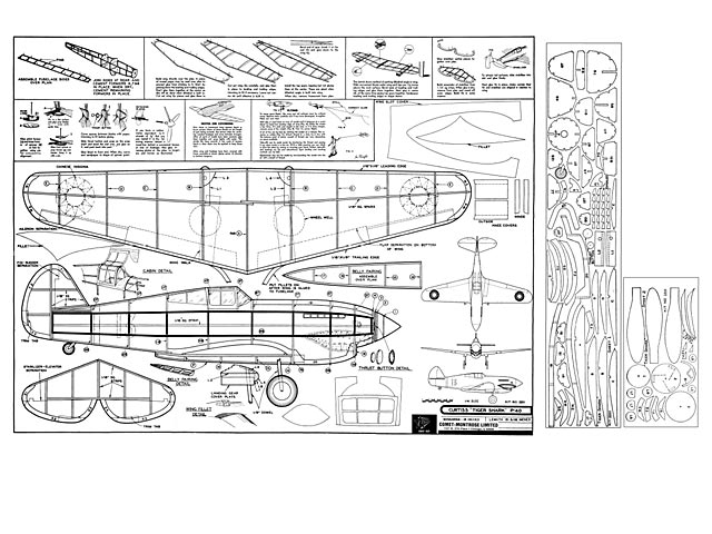 P 40 Tiger Shark Plan Free Download Outerzone