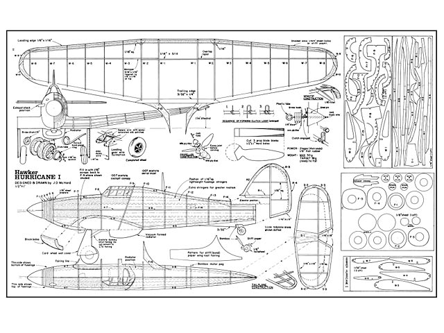 Hawker hurricane plan free download outerzone for Prototype house plan
