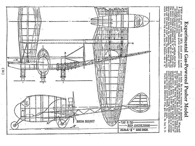 XP-2 (oz1616) by Ben Shereshaw from Flying Aces 1937