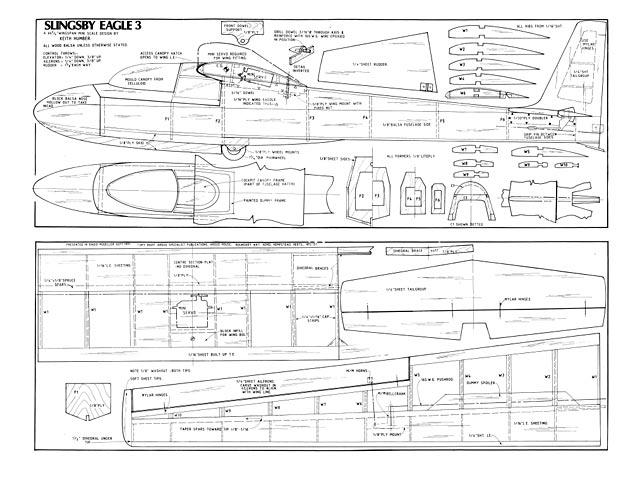 Slingsby Eagle 3 - plan thumbnail image