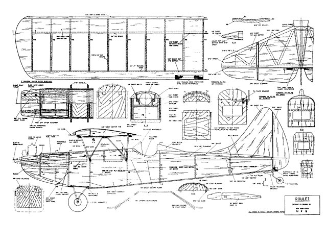 Roulet - Hoh Fang-Chiun - American Modeler - February 1967 - 54in
