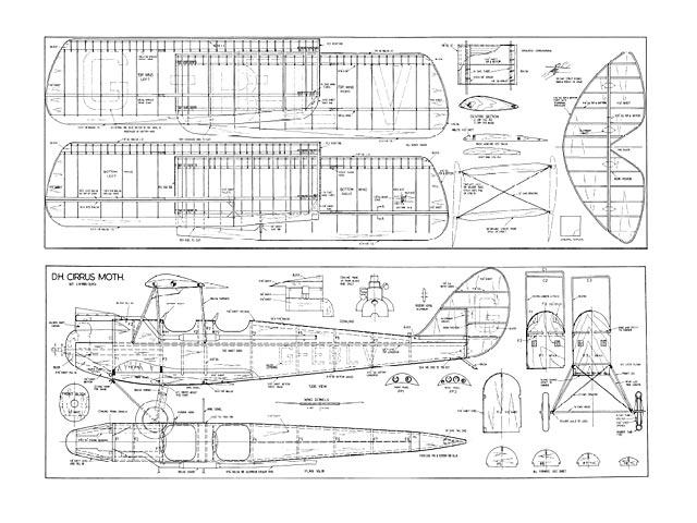 DH.60 Cirrus Moth - plan thumbnail image