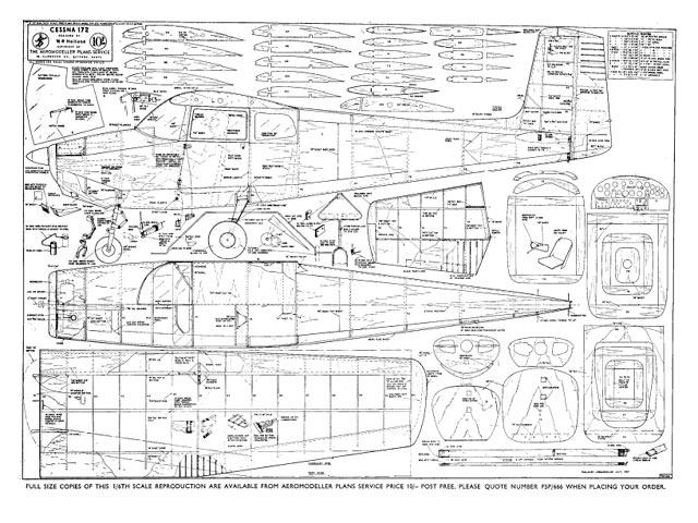 Cessna 172 - plan thumbnail image
