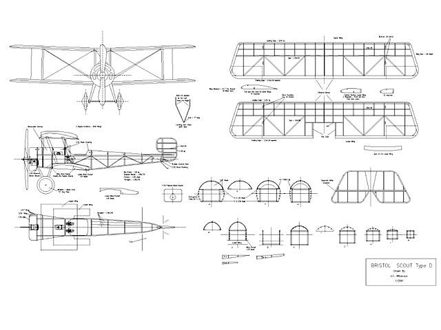Bristol Scout Type D - plan thumbnail image