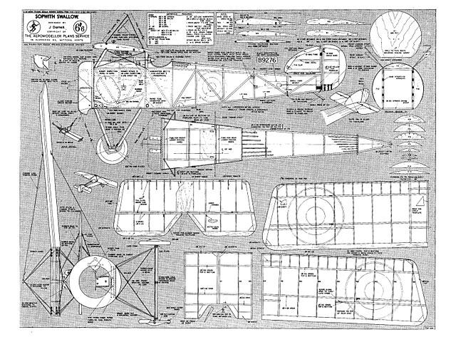 Sopwith Swallow - plan thumbnail image