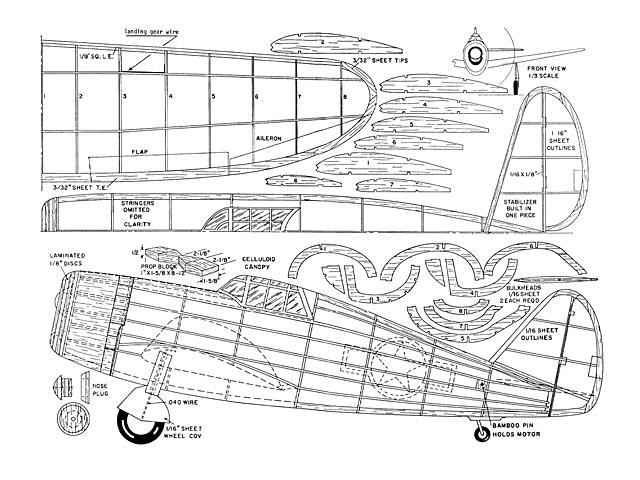 Republic P-47 Thunderbolt (oz1964) by Mik Michelson 2010