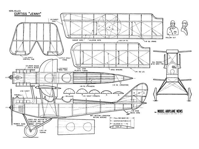 Curtiss Jenny - plan thumbnail image