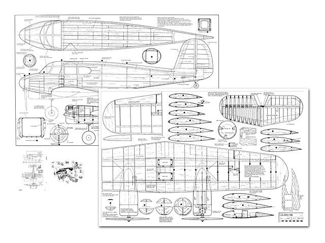 Cessna UC-78 Bobcat - plan thumbnail image