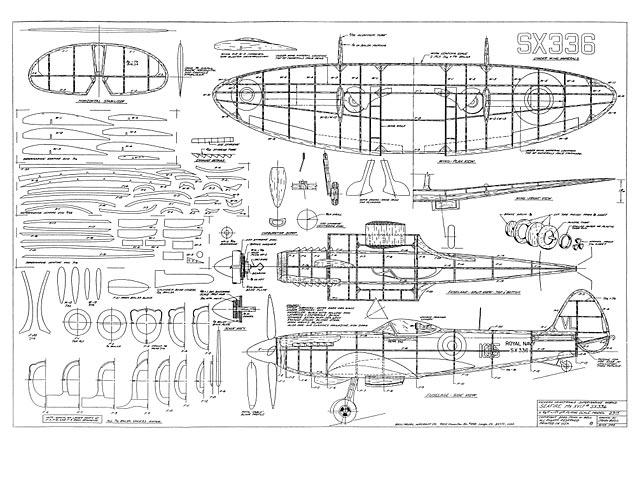 Supermarine Seafire XVII - plan thumbnail image