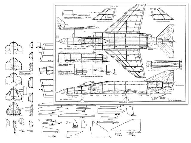 F-4E Phantom II (oz2053) by John Bell from Bell Models
