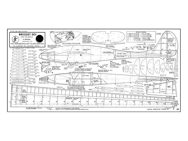 Breguet 901 - plan thumbnail image