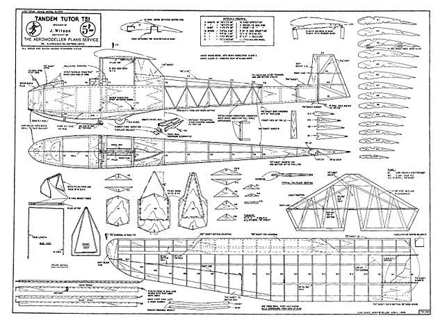 Tandem Tutor T-31 - plan thumbnail image