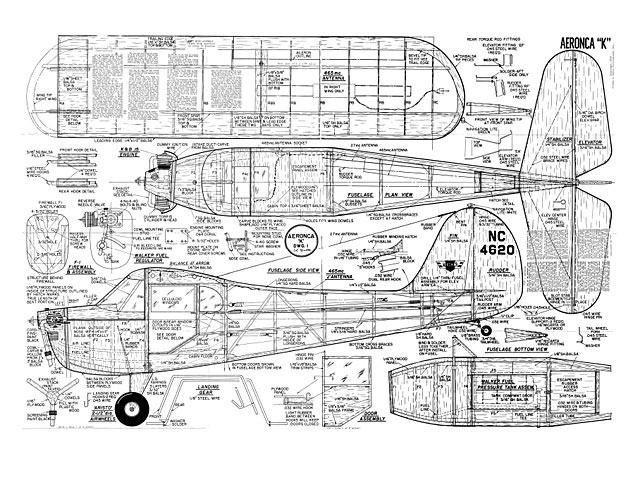 Aeronca K - plan thumbnail image